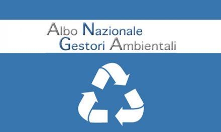 Pagamento diritti annuali 2019 Albo Gestori Ambientali