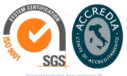 Certificazione ambientale secondo ISO 14001:2015 in convenzione e certificazione qualità secondo ISO 9001:2015 con spese a carico di ASPI