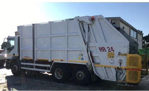 Veicoli allestiti con specifica carrozzeria idonea alla raccolta e trasporto di rifiuti