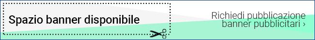 spazio banner disponibile