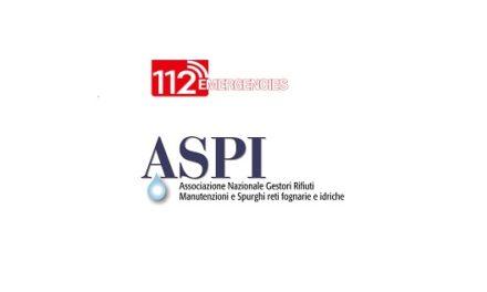 "Collaborazione in esclusiva fra associazione nazionale ASPI e mensile ""112 Emergencies"""