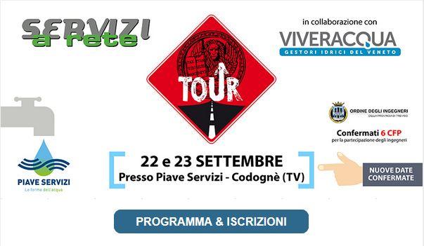 Servizi a Rete TOUR 2021 – 22/23 settembre Codognè (TV)
